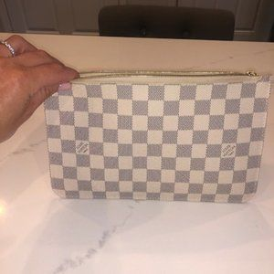 AUTHENTIC Louis Vuitton Damier Azur pouch